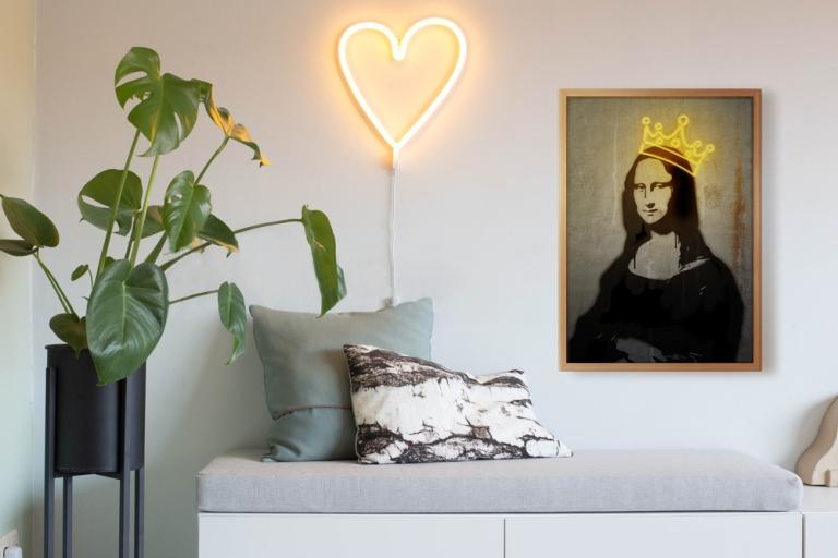 Obra Neon Para Mona Lisa By Danilo De Alexandria